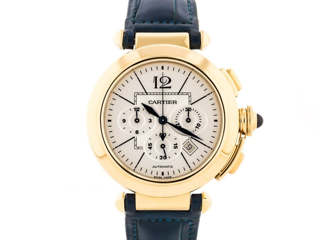 Preowned Cartier Pasha Chronograph