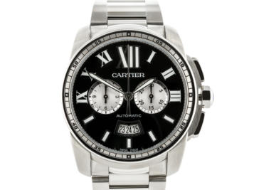 Preowned Cartier Calibre Chronograph