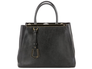fendi 2Jours Black Handbag