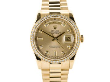 Preowned Rolex Day Date Watch