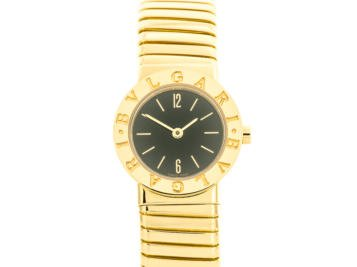 Preowned Bvlgari Tubogas Watch