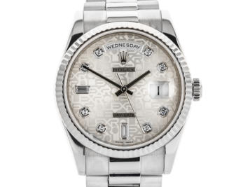 Rolex 18ct Gold Day Date Watch
