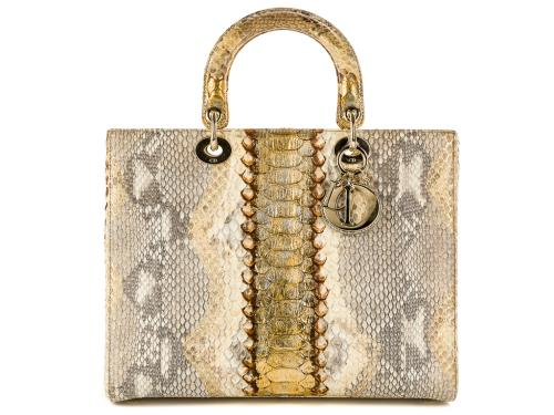 Lady Dior Python Limited Edition Bag