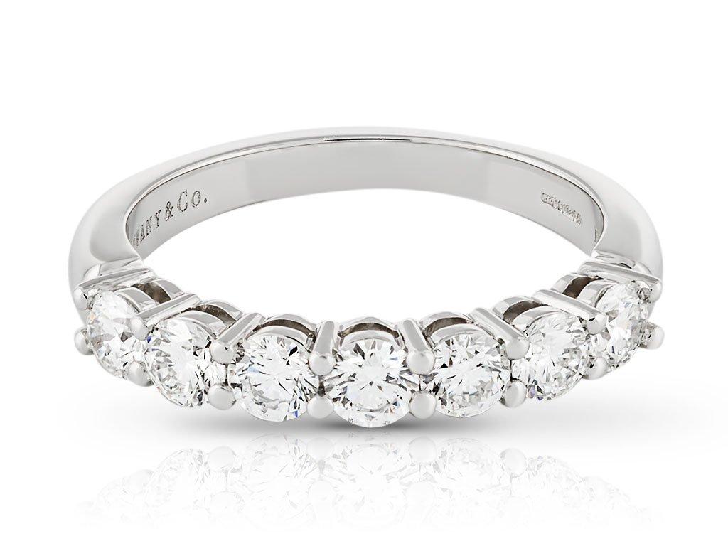 Tiffany & Co Half Eternity Diamond Ring - Prestige Online ...