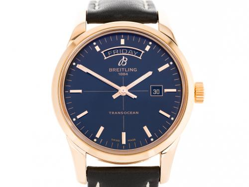 Breitling Transocean Day-Date Watch