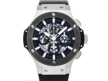 Hublot Aero Bang Steel Ceramic Watch