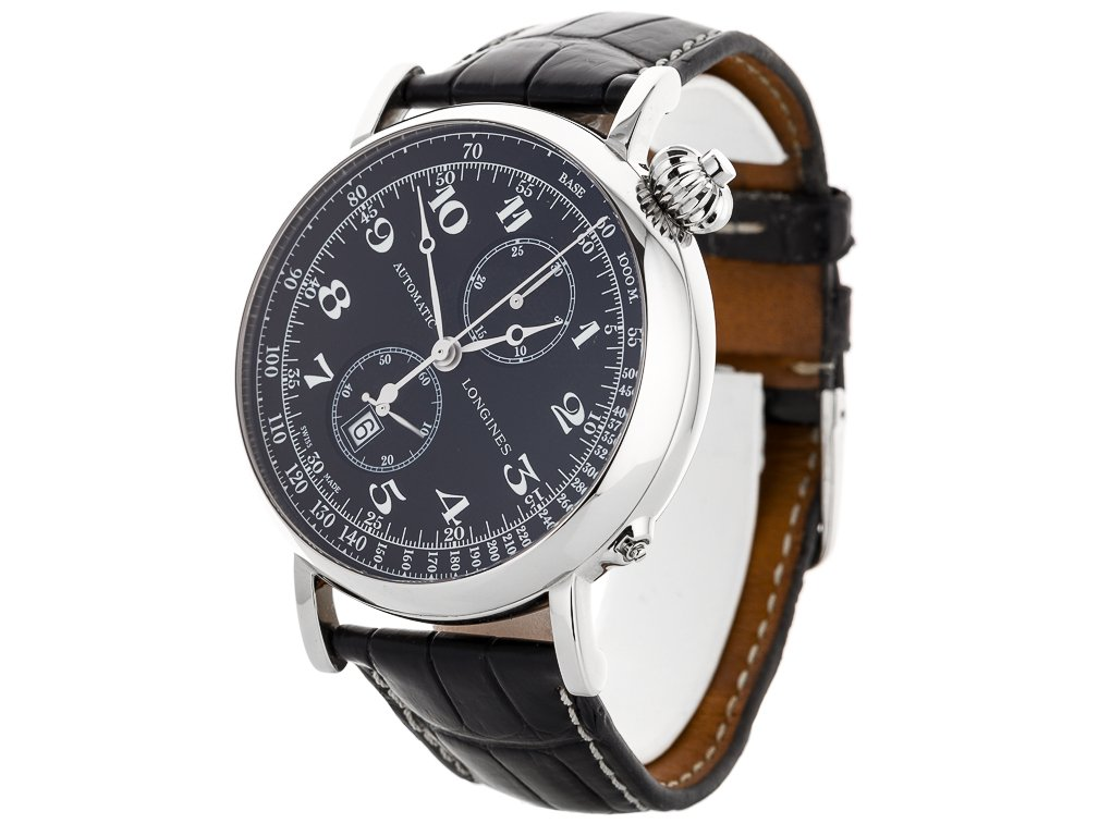 online store e2c78 fe109 Longines Heritage Avigation Watch