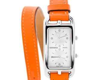 Hermes Cape Cod Dual Time Watch