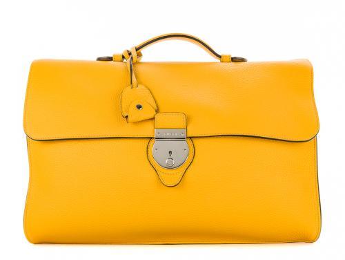 Gucci Buckle Flap Briefcase