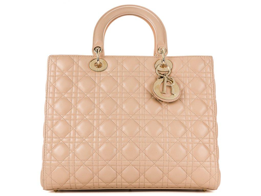 designer fashion f1910 ffcd8 Christian Dior Lady Dior Bag